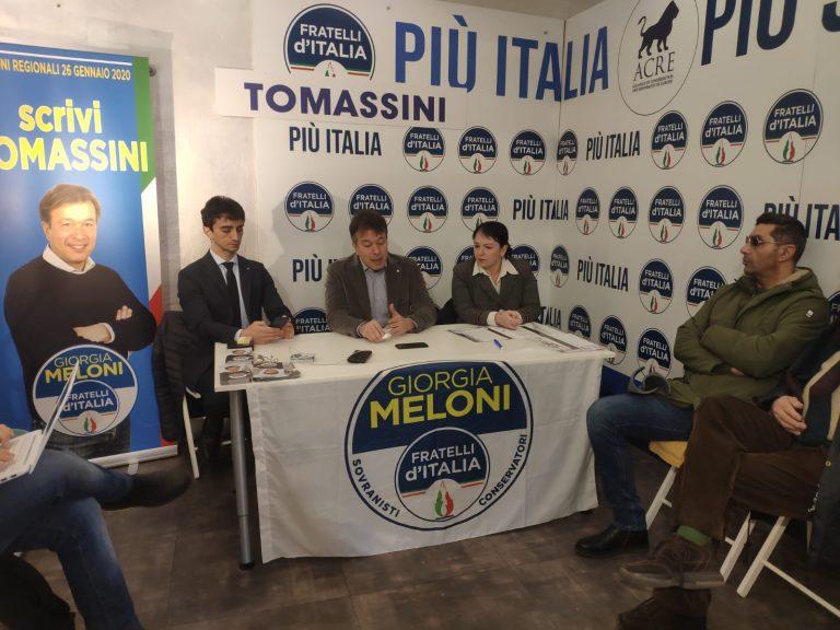 ELEZIONI REGIONALI IN EMILIA ROMAGNA : FOCUS SULLA SANITA' DI FRATELLI D'ITALIA