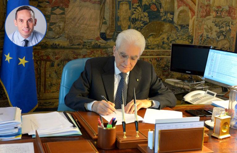 Caro Mattarella, ti scrivo… Io non ci sto!
