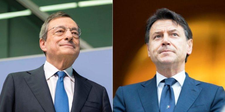 Mario Draghi la 'mossa del cavallo' del premier Conte